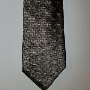 Burberry monogram tie